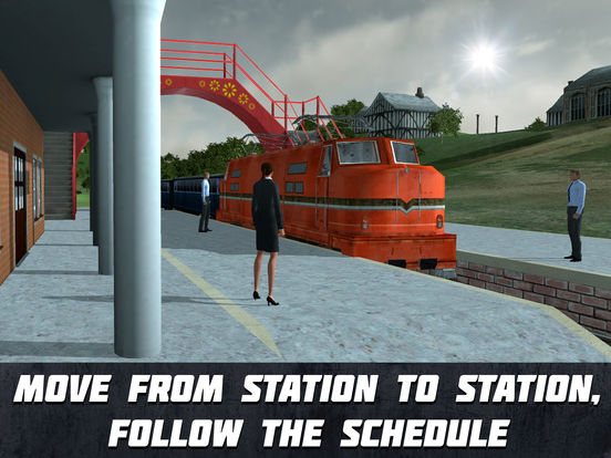 Speed Train Driving Simulator 3D Full Screenshots