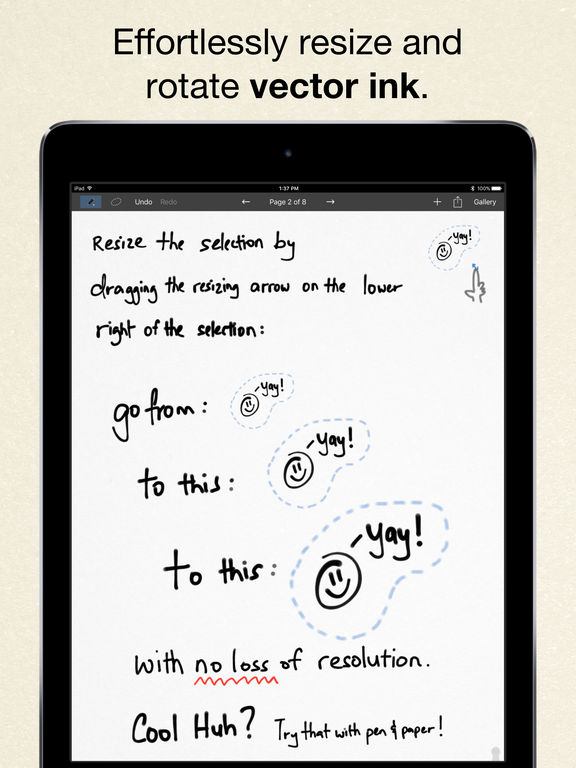 Inkflow Visual Notebook screenshot