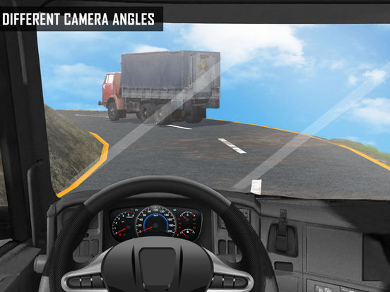 Off Road Cargo Truck Driver - Extreme mountain transporter truck driving на iPad
