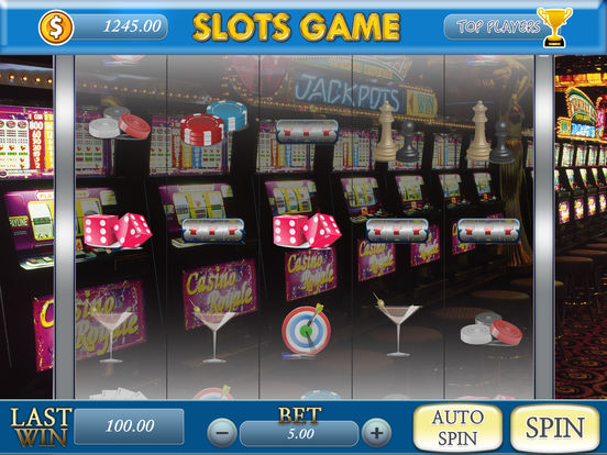 Flow slot machine