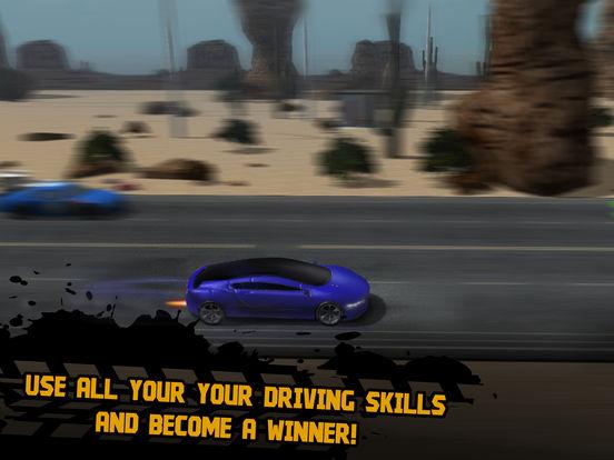 Illegal City Drag Racing 3D Full Screenshots
