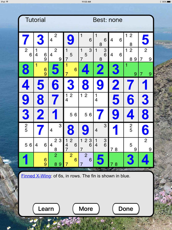:) Sudoku +screeshot 5