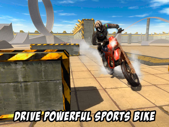 Crazy Bike Stunt Racing 3D Full screenshot 6