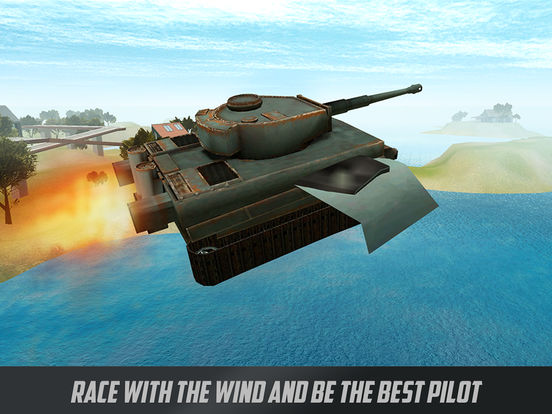 Battle Tank Flight Simulator 3D Full Screenshots