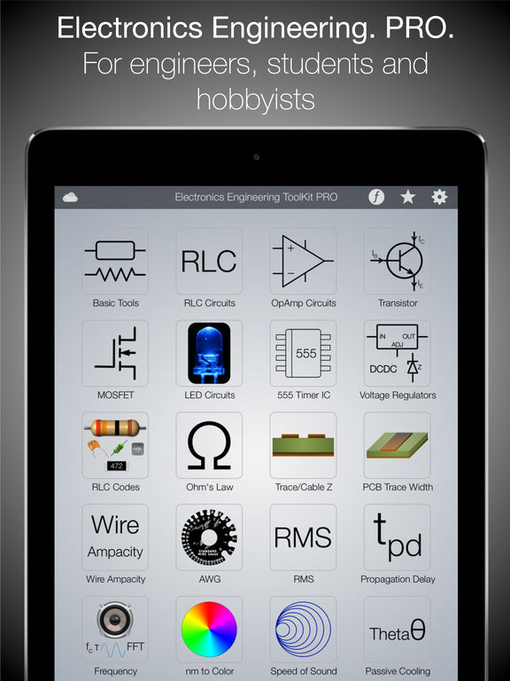 Electronics Engineering ToolKit Screenshots