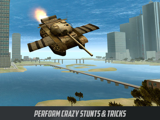 Battle Tank Flight Simulator 3D Full Screenshots