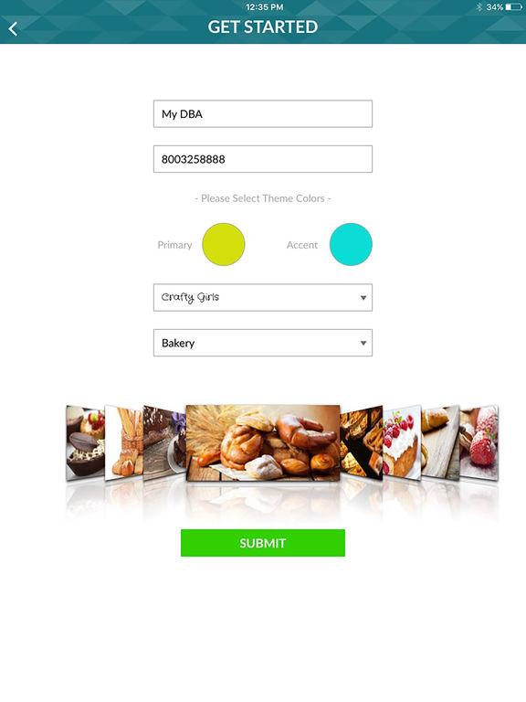 sure3 - Website Builder for Restaurants & More screenshot