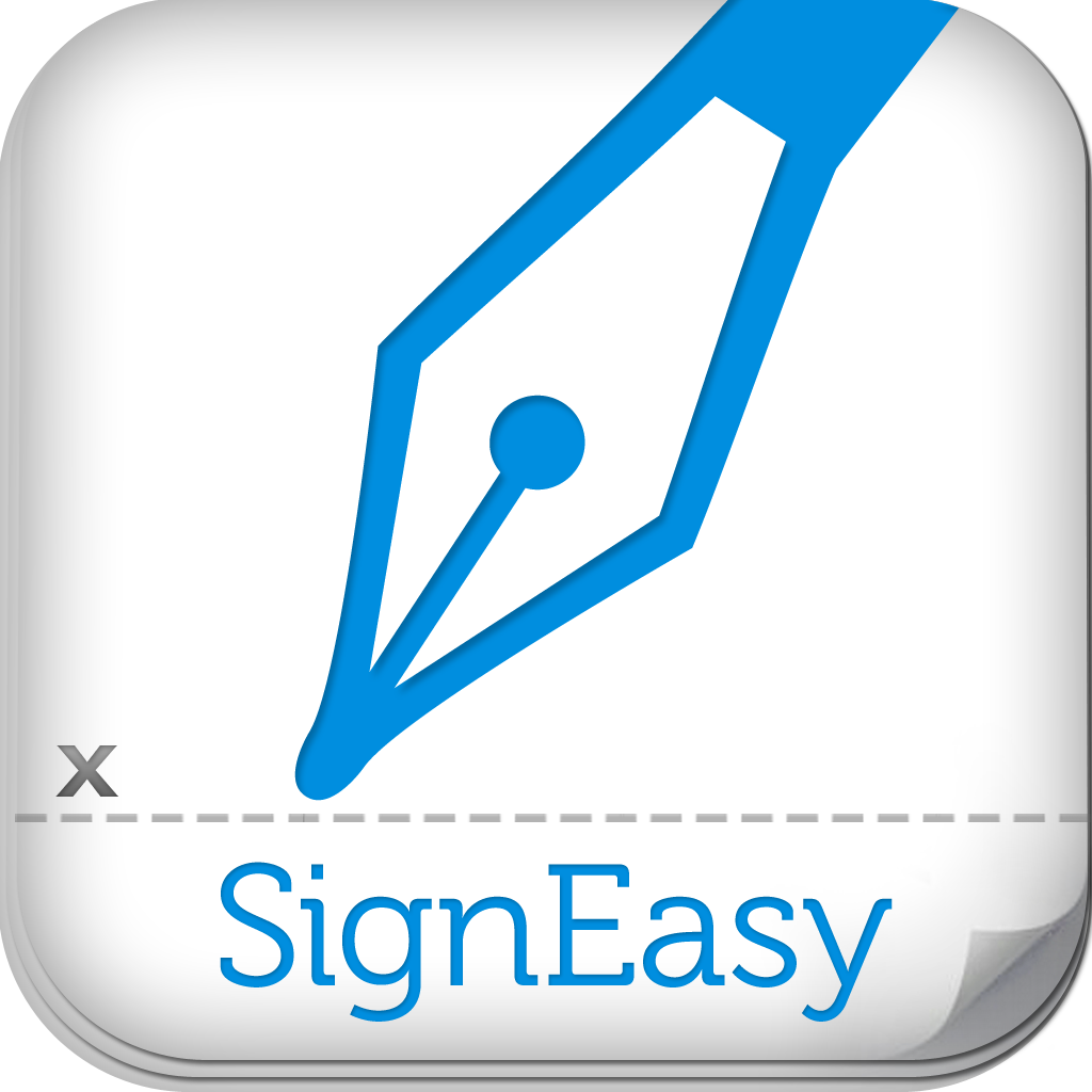 Signeasy sign and fill documents pdf word excel on for Sign documents app free