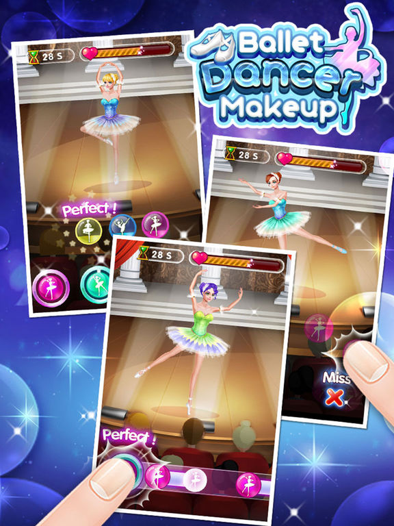 Ballet Dancer Makeup - Free Girls Gamesscreeshot 4