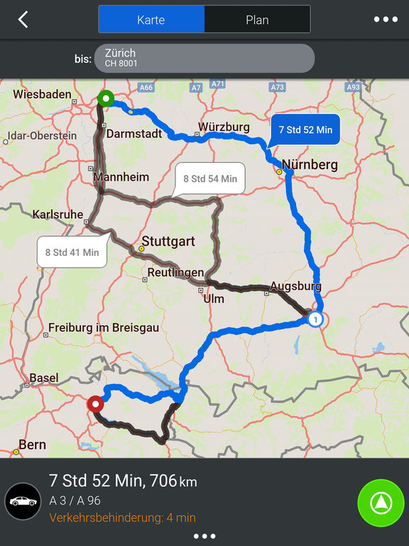 CoPilot DACH - GPS Navigation & Offline Maps Screenshots