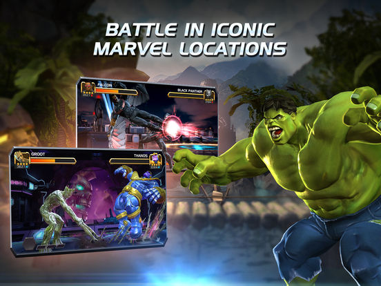 Screenshots of MARVEL Contest of Champions for iPad