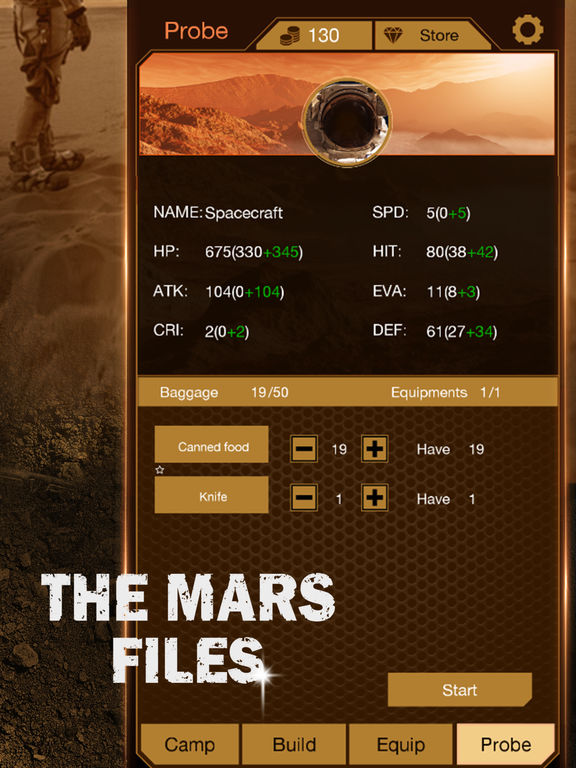 Игра The Mars Files: Survival Game
