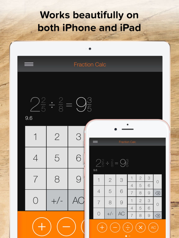 3 way fraction calculator