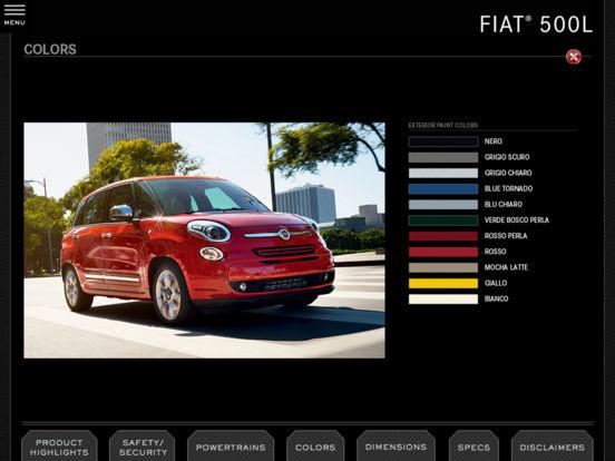 2011 Chrysler Group Fleet iPad Screenshot 3
