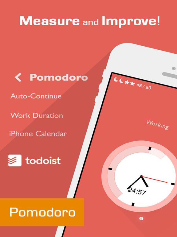 Flat Tomato (Time Management Tool Inspire By Pomodoro) screenshot