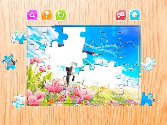 Мультфильм Головоломка Для Дети - Головоломка Загадки коробка для Мику Хацунэ Издание - Малыш и дошкольного возраста Образование Игры Скриншоты3