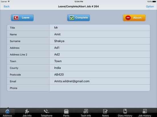 CommuSoft:Mobile iPad Screenshot 2