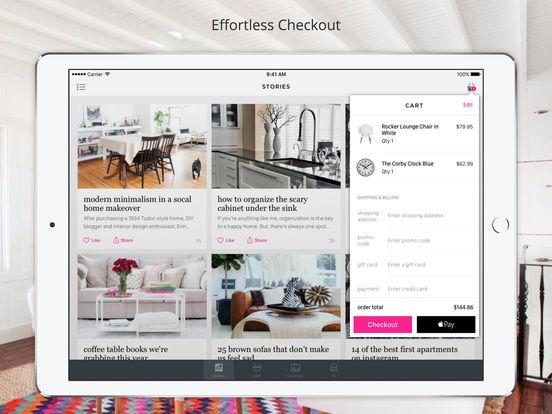Domino home interior design ideas on the app store for Interior design shopping app
