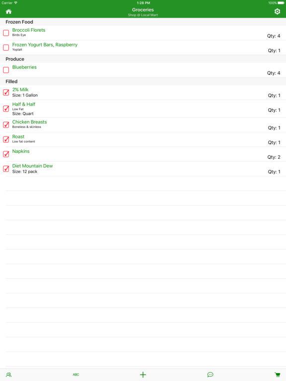 SmartShop - Shopping List Manager Screenshots