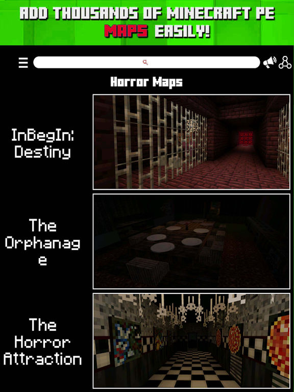 Horror Maps For Minecraft PE Download The Scariest Map For - Horror maps fur minecraft