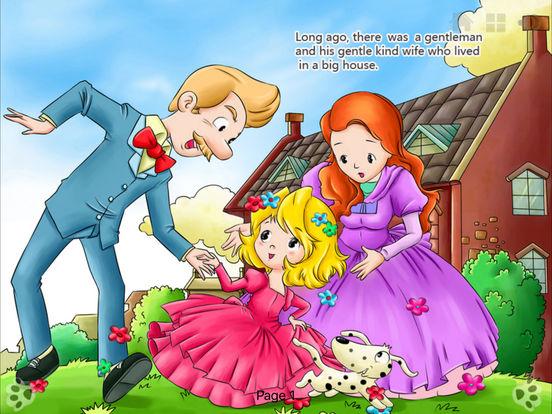 iBigToy Interactive Book-Cinderella HD iPad Screenshot 2