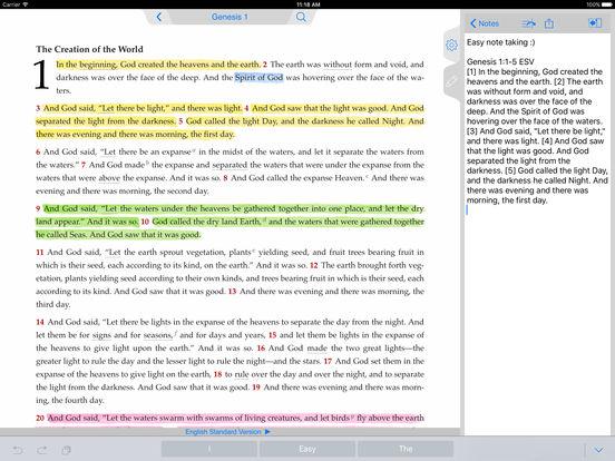 The ESV Bible iPad Screenshot 4