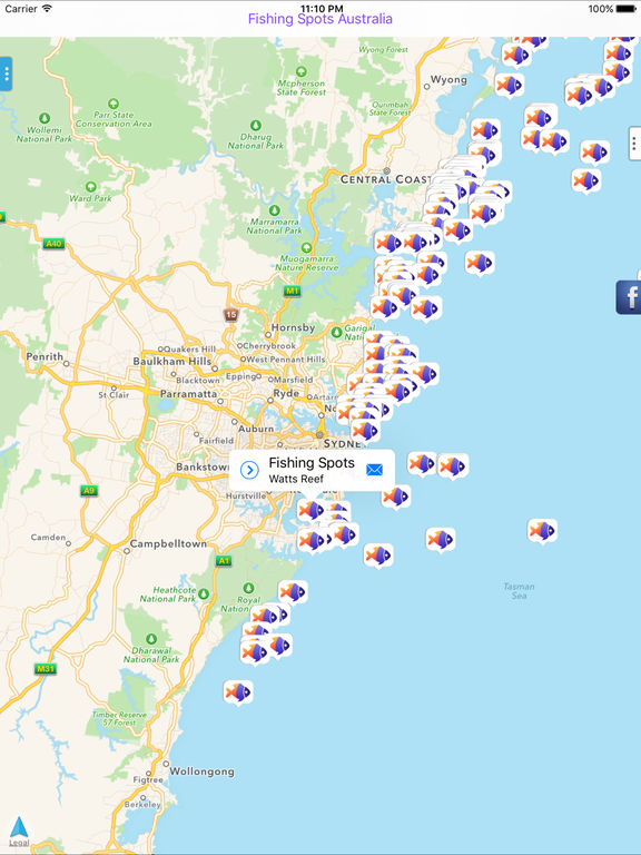 Fishing spots australia on the app store for Best places to fish in the us
