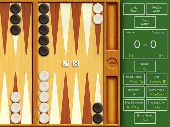 True Backgammon HD iPad Screenshot 4