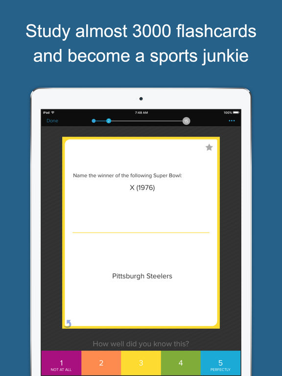 Learn Sports Trivia screenshot