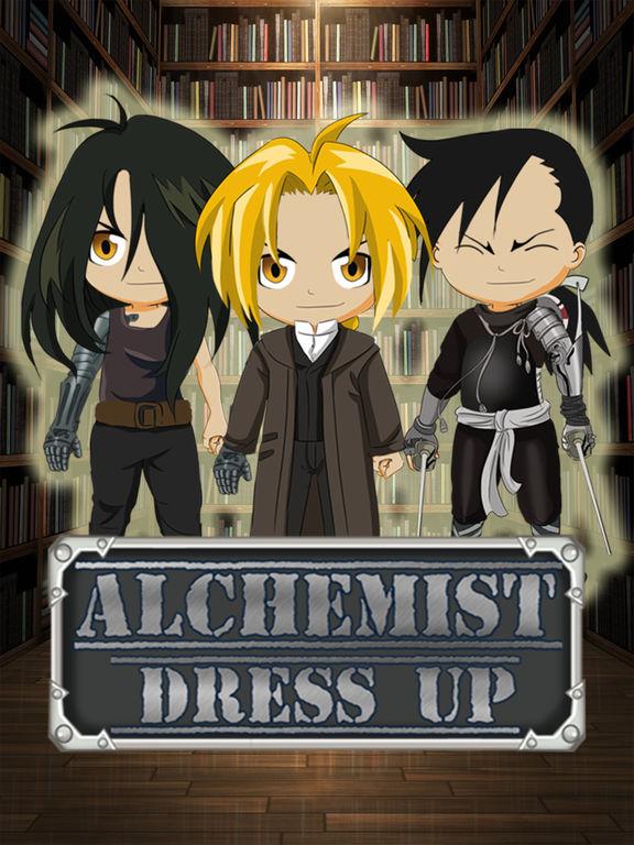 FMA Anime DressUp Games - Manga Maker For Kids FullMetal Alchemist Editionscreeshot 1