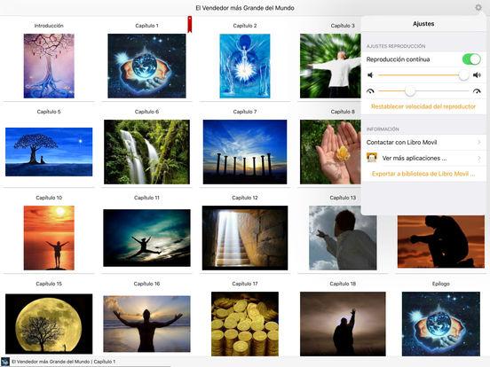 El Vendedor más Grande del Mundo - Audiolibro iPad Screenshot 1