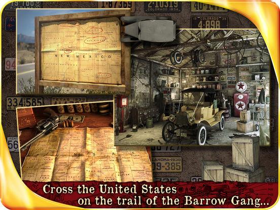 Public Enemies : Bonnie & Clyde HD iPad Screenshot 2