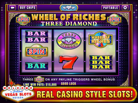 Vegas Slots - Play Las Vegas Casino Slot Machines!screeshot 3
