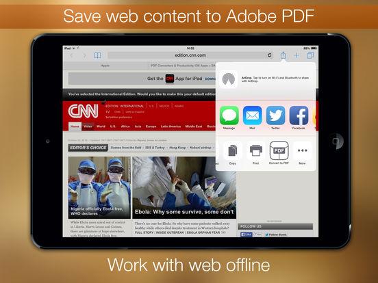 PDF Printer Screenshot