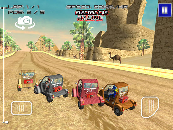 Electric Car Racing Screenshot