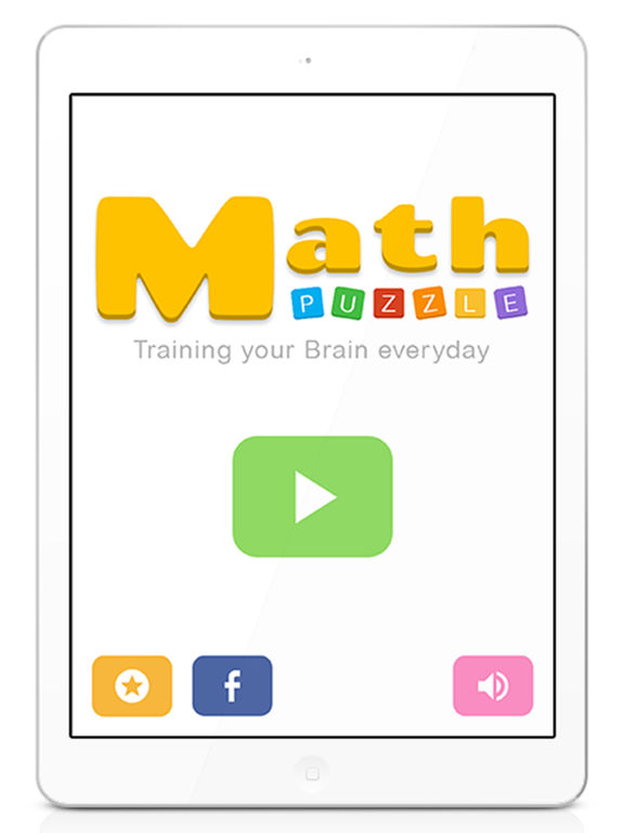 Math Puzzle Training your brain daily quick math Screenshots