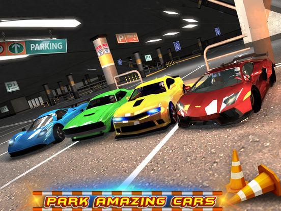 Игра Multi-storey Car Parking 3D
