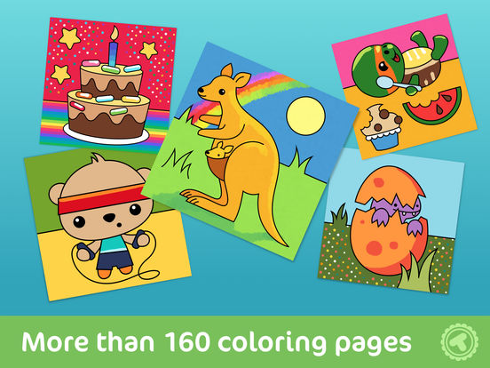 Online Colouring Pages For 7 Year Olds : Toonia colorbook educational coloring game for kids & toddlers