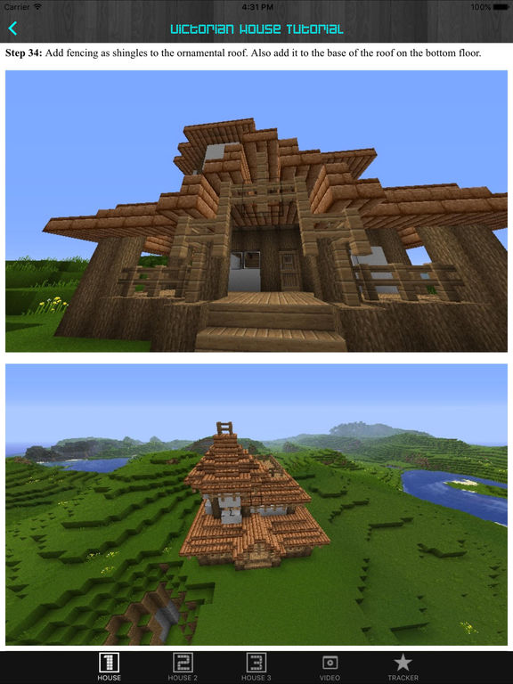 Screenshots of Free House For Minecraft PE (Pocket Edition). for iPad