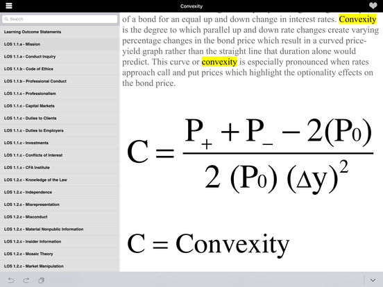 Pass the CFA Level 1 iPad Screenshot 1