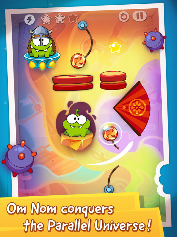 Screenshot #2 for Cut the Rope: Time Travel HD