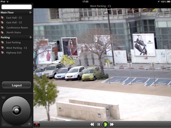 DVTel iPad Screenshot 4