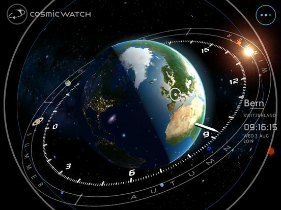 Screenshot #3 for Cosmic-Watch