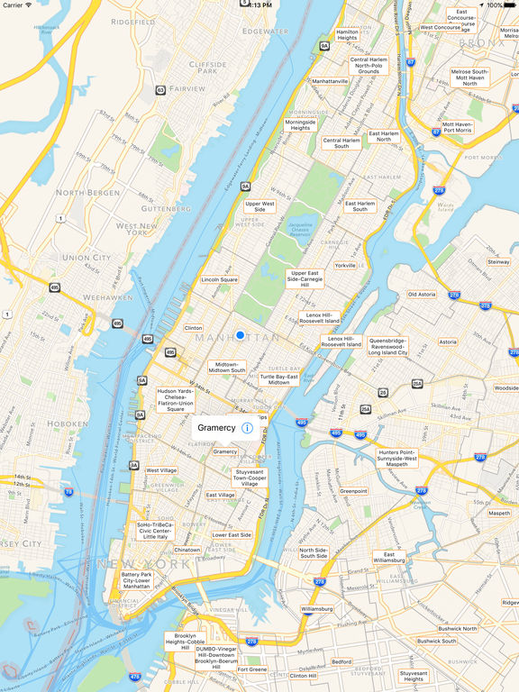 NYC Tourist Map Travel Map for New York City on the App Store – Map Of Nyc With Tourist Attractions