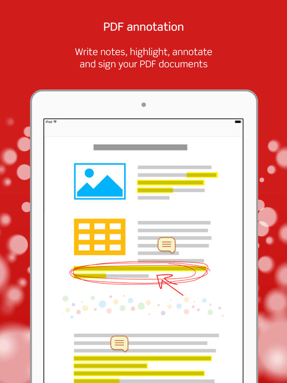 Scanner Pro - Scan Receipts and PDF Document Annotation App Screenshots