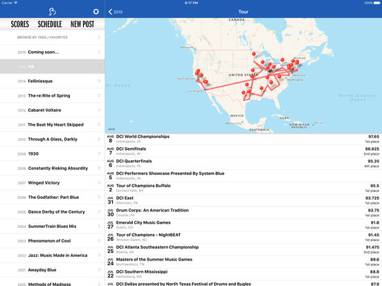 Blue Devils iPad Screenshot 4
