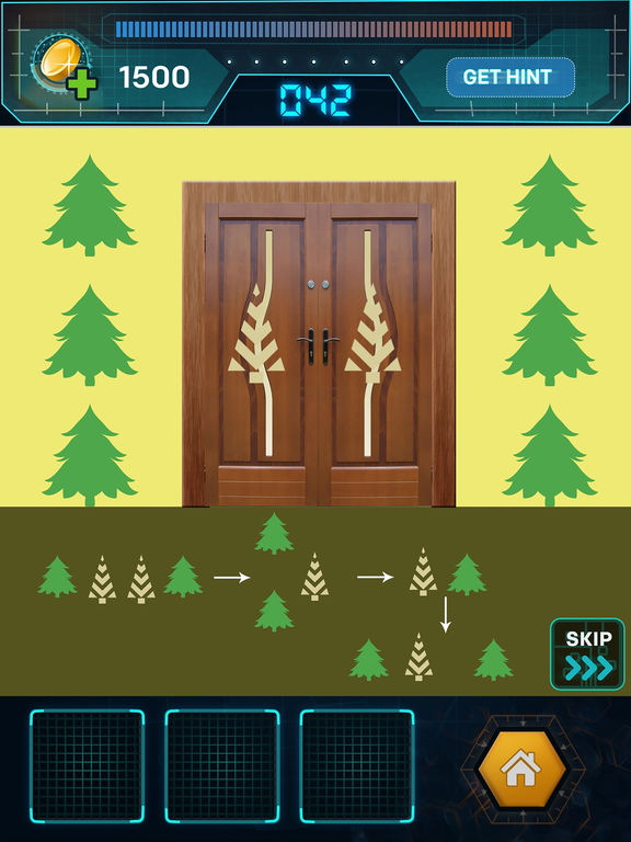 Игра 100 Doors Spy Escape HD