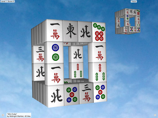 Moonlight Mahjong iPad Screenshot 1