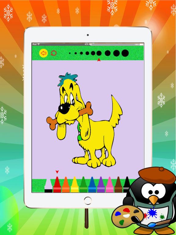 Удивительно, кошка и собака раскраска: изучить основные цвета для рисования для малышей: весело и свободно Скриншоты8