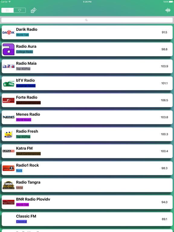 Radio - Online Radio Bulgaria Free - Радио България Скриншоты8